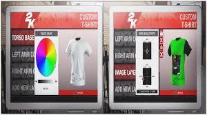 nba 2k18 mascots and create custom shirts and logos youtube