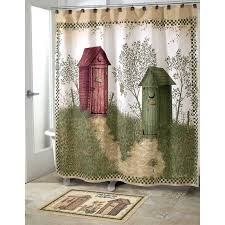 outhouse bathroom decor curtain office and bedroom