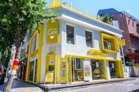 100 House For Sale In Korea SEOUL SOUTH KOREA May 26 2017 Garosugil Street Sign Garosugil