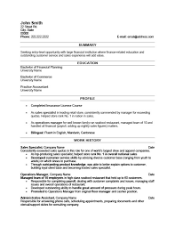 Sales Specialist Resume Template Premium Samples Example Rh Resumetemplates101 Com Best Sample Resumes Examples
