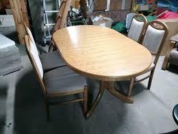 esszimmer garnitur tisch 6 stühle eiche rustikal braun