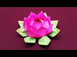 Art Crafts DIY Paper Flower Tutorial Step By