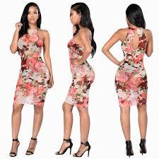 2017 ladies floral pattern skirt fashion dress party