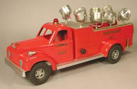 Smith-Miller Toy Truck, New York Fire Dept Engine Co. No.1 Search ...