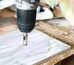 Drilling Small Holes In Porcelain Tile by Diy Marble Lamp