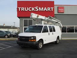 100 Bucket Trucks For Sale In Pa 2006 CHEVROLET EXPRESS G3500 BUCKET BOOM TRUCK FOR SALE 11109