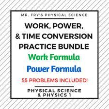 Work Power Time Practice Bundle