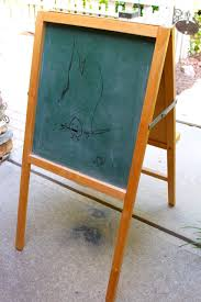 Unsanded Tile Grout Chalkboard by Farmhouse Style Chalkboard Easel Makeover 2 Bees In A Pod