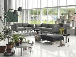 salon canapé gris salon canape gris moderne idee originale ideeco
