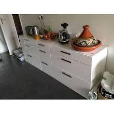 meuble ikea cuisine meuble bas de cuisine 3 tiroirs ikea en clasf maison jardin