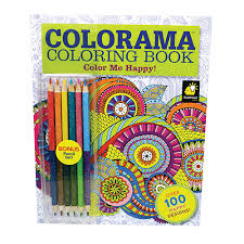 Colorama Color Me Happy Coloring Book With Bonus