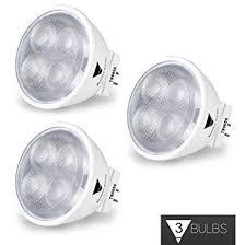 buy 3 pack 12v 3w mr11 led bulb warm white 2900k 20 watt