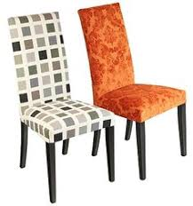 Dining Room Square Pattern And Orange Flower Chair Winning Chairs