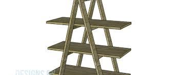 build a ladder bookshelf u2013 designs by studio c