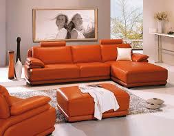 Orange Leather Living Room Set Orange Living Room Set Quotes