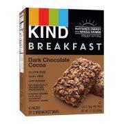 KIND Breakfast Bars 4 Ct Dark Chocolate Cocoa Gluten Free