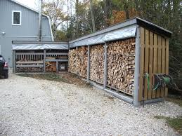 Portable Generator Shed Plans by How To Buid A Firewood Shed U2014 Jen U0026 Joes Design