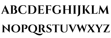 cinzel decorative bold fonte