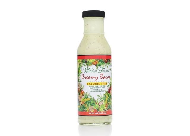 Walden Farms Dressing, Calorie Free, Creamy Bacon - 12 fl oz