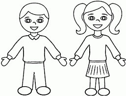 Amazing Boy And Girl Coloring Pages 70 For Your Print With