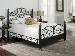 Black Metal Bed Frame Queen Designs Pretty Black Metal Bed Frame