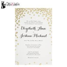 Gold Dot Wedding Invitations Hobby Lobby
