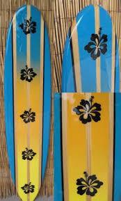 Decorative Surfboard With Shark Bite by Custom Surfboard Signs Restaurant Hotel Beach Decor Tiki Soul