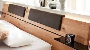 interliving schlafzimmer serie 1019 kopfteilpolster set 523450 graues kunstleder zweiteilig für ca 200 cm breite