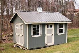 Riverside Quick Ship Shed by Dutchcrafters Amish Furniture