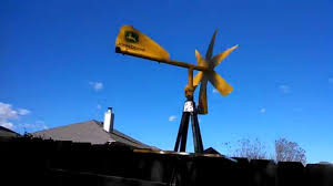 John Deere Backyard Windmill - YouTube Homemade Wind Generator From Old Car Alternator Youtube Charles Brush Used Wind Power In House 120 Years Ago Cleveland 12 Best Power Images On Pinterest Renewable Energy How To Build A With Generators Windmill Windfarm Turbine 4000 Windmills Palm Small Cservation Kit Homemade Generator 12v 05 A 38 High Def Pictures From Around The World In This I Will Show You How Make That Produces Your Home Project Diy Or Prefabricated Vertical Omnidirectional Turbines