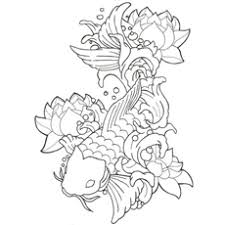 Picture Of Fish With Lotus