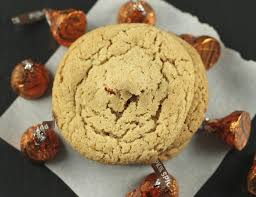Pumpkin Spice Hershey Kisses Cookies by Satisfy My Sweet Tooth Blog Archive Fall Spice Cookies Stuffed