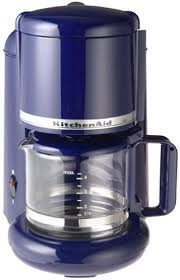 KitchenAid KCM055 4 Cup Ultra Coffeemaker Cobalt Blue