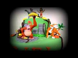 livre pate a sucre gâteau livre de la jungle