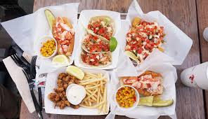 100 Cousins Maine Lobster Truck Menu In West Hollywood