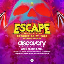Escape Psycho Circus 2018 DJ Producer Insomniac