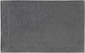 cawö home badematte modern 304 anthrazit 774 50x80 cm 50x80 cm