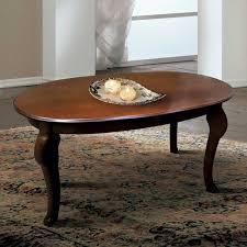 wohnzimmer couchtisch im italienischen design oval tisch