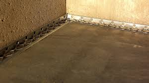 Perforated Drain Tile Sizes by Basement French Drain