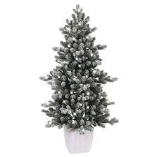 Ge Franklin Fraser Fir Christmas Tree by Ge Artificial Christmas Trees Lowe U0027s Canada