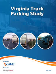 100 Ta Truck Stop Wytheville Va VirginiaParkingStudy_FinalReport_July2015 Driver Parking