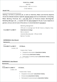 Resume Format In Word Template Free Samples Examples Templates Cv Download Junior Doctor Resumes Skills Medical