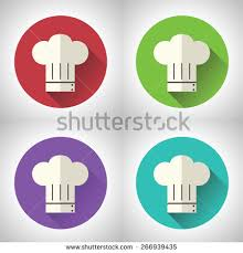 toque cuisine chief cook symbol toque cuisine food เวกเตอร สต อก 266939435