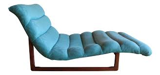 100 Pearsall Chaise Lounge Chair MidCentury Adrian Attributed Tufted Wide Sculptural