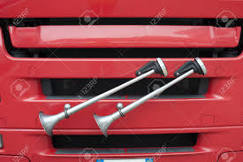 Detail Of Some Air Horns Near A Red Truck S Radiator Stock Photo ... Bull Horns For Your Truck Best Resource Real Indian For Buses And Trucks Mod Ets 2 Ford F250 F350 Super Duty Kit Sdkit730 Kleinn Air Train Canada Big Sound Horns Motorcycles Cars Trucks Buses Trumper 110 Bd Good Mounted Cow Steer Peterbilt Show Blowing Youtube Inside Indias Amazing Customized India Pedestrian Horn Kitscom Wolo Electric