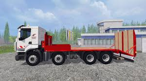 100 Tow Truck Simulator Renault Premium Lander Pour Farming 2015