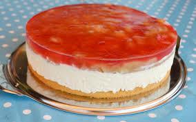 rhabarber frischkäse torte lillys