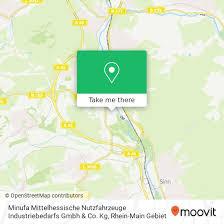 how to get to minufa mittelhessische nutzfahrzeuge