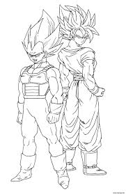 √ Goku Ssj3 Da Colorare Goku Coloring Pages To Download And Print