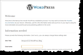 tutorial hosting a wordpress blog with amazon linux amazon